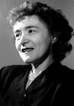 In 1947, Gerty Cori was the first woman to be awarded the Prize in Physiology or Medicine. Gerty Theresa Cori.jpg