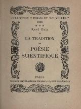 Ghil - La Tradition de poésie scientifique, 1920.djvu
