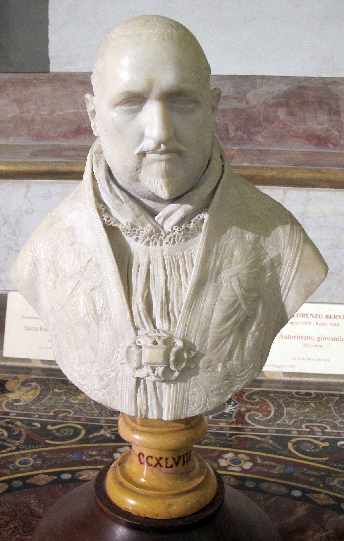 File:Gian lorenzo bernini, busto di paolo V borghese, 1618 ...