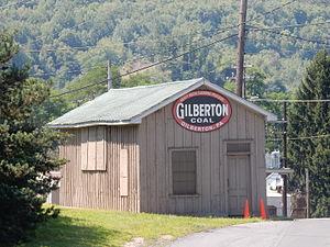 Gilberton, Pennsylvania - Image: Gilberton Coal Co, Gilberton PA 01