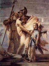 Aeneas präsentiert Dido seinen Sohn Ascanius (Vicenca 1757)