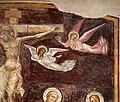 Giovanni cristiani e bottega, natività, crocifissione con santi e compianto, 1390 ca. 09 angeli.jpg