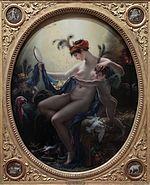 Girodet-Trioson - Mademoiselle Lange as Danae, 1799.jpg