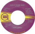Give It to Me Baby by Rick James US vinyl Side-A label.png