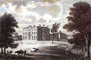 Glevering Hall - Glevering Hall, c.1824