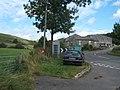 Glutton Bridge, post box and primered telephone box - geograph.org.uk - 1460872.jpg