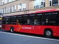 Go North East bus Red Arrows livery in Newcastle 3 April 2009.JPG
