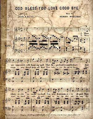 1866 in music - Image: God Bless 1866