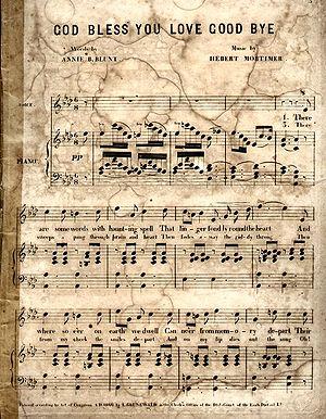 1866 in music - Image: God Bless 1866