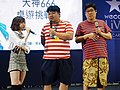 God Tone, Guo Dong and the hostess standing 20190414b.jpg