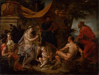 The Music Competition of Pan and Apollo (The Music Competition of Apollo and Silenus)