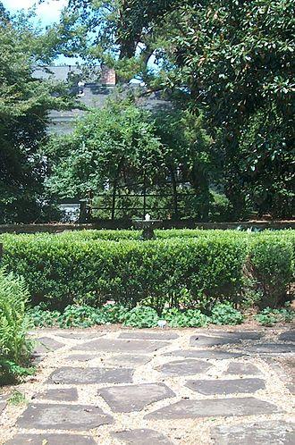 Oak Hill & The Martha Berry Museum - Goldfish Garden.