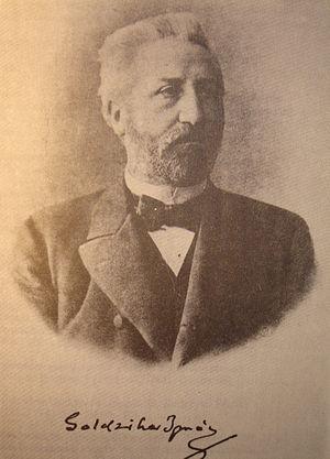 Ignác Goldziher - Goldziher image from a book