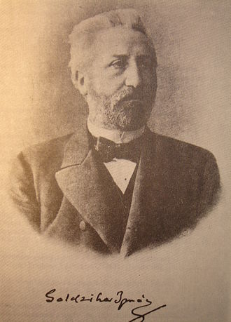Ignác Goldziher - Goldziher image from a book