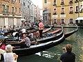 Gondolas in Orseolo Basin 03.JPG