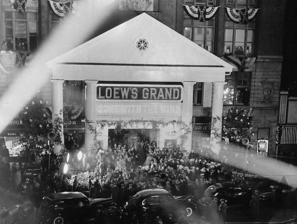 Gone With the Wind Atlanta premiere 1939