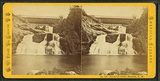 Goodrich Falls - Image: Good Rich Falls, Bartlett, N.H, by Pease, N. W. (Nathan W.), 1836 1918