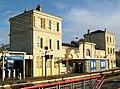Goussainville (95), gare SNCF, façade est.jpg