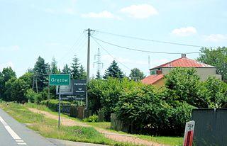 Gręzów Village in Masovian, Poland