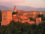 Granada's sunset