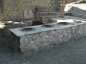 Take-out - Thermopolium in Herculanum
