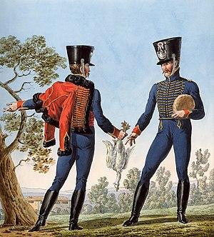 André Joseph Boussart - Boussart's 4th Hussar Regiment