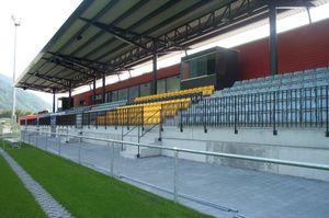 Sportpark Eschen-Mauren - Grandstand of Sportpark Eschen-Mauren
