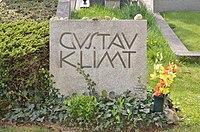 Grave of Gustav Klimt, Hietzinger Friedhof.jpg