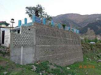 Shah Ismail Dehlvi - Image: Grave of Shah Ismail Shahid, Balakot