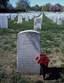 Grave of movie actor and war hero Audie Murphy at Arlington National Cemetery in Virginia LCCN2011633694.tif