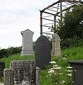 Graves at St Cwyllog Churchyard - geograph.org.uk - 1396993.jpg