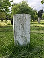 Gravestone of Private Robert Lewis Francis of the Welsh Regiment at Cathays Cemetery, May 2020.jpg