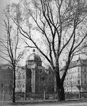 Graz-Synagoge (erbaut 1892, zerstört 1932) - Grieskai, Zweigelgasse - 1915.jpg