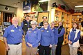 Great Smoky Mountains Association Staff pose in the bookstore during the 2018 Festival of Christmas Past, December 8, 2018--Warren Bielenberg (46269707184).jpg