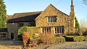 Listed buildings in Padiham - Image: Green Farmhouse and Cottage, Padiham