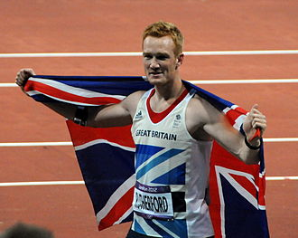 Sport in the United Kingdom - Greg Rutherford, gold medallist in the long jump.
