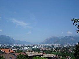 View towards Grenoble