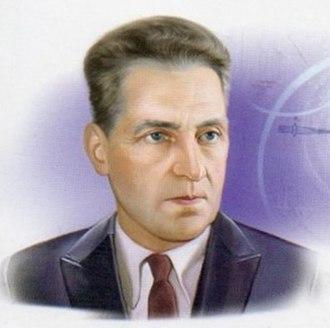 Grigory Landsberg - Landsberg on a Russian postcard