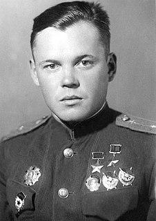 Grigory Rechkalov Soviet World War II flying ace