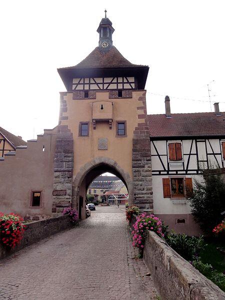 France commune de gu mar for Porte garage haut rhin