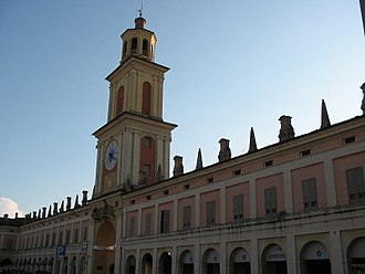 Gualtieri - Watch Tower in Gualtieri.