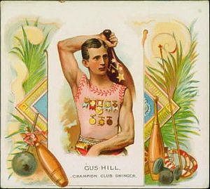 Gus Hill - 1888 sports card