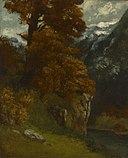 Gustave Courbet - The Glen at Ornans (Bords du Doubs, Effet d'Automne) - 1939.270 - Yale University Art Gallery.jpg