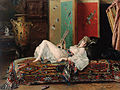 Gustave Léonard de Jonghe - The Afternoon Siesta.jpg