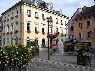 Héricourt, Haute-Saône - Image: Héricourt (mairie)