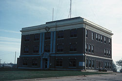 Harper County Courthouse in 2007