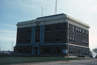 Harper County, Oklahoma - Image: HARPER COUNTY COURTHOUSE