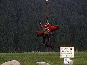 Helicopter Flight Rescue System - Image: HFRS2