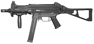 series of sub-machine guns