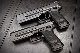Heckler & Koch USP - HK USP Elite and Expert 9mm with Merkle Tuning weights